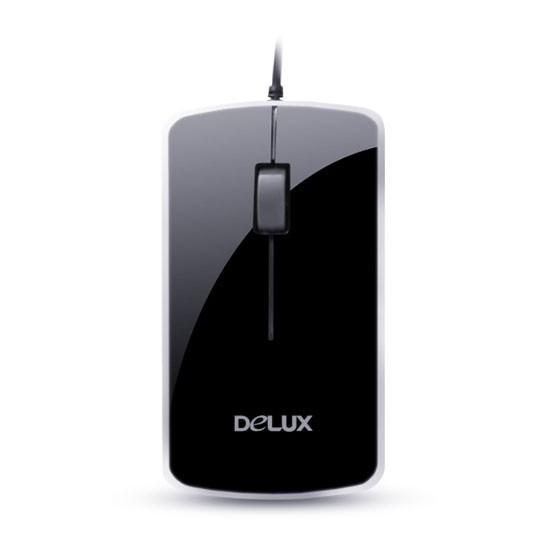 Мышь проводная Delux DLM-125OUB