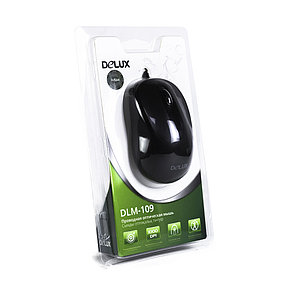 Мышь Delux DLM-109OUB, фото 2