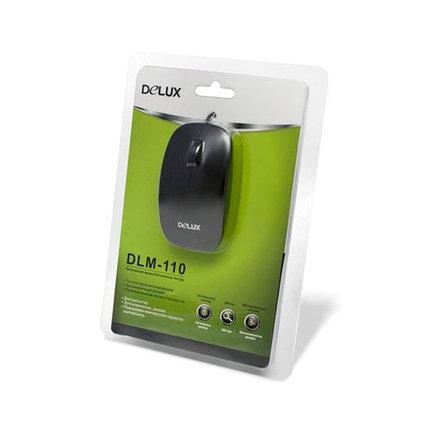 Мышь Delux DLM-110OUB, фото 2
