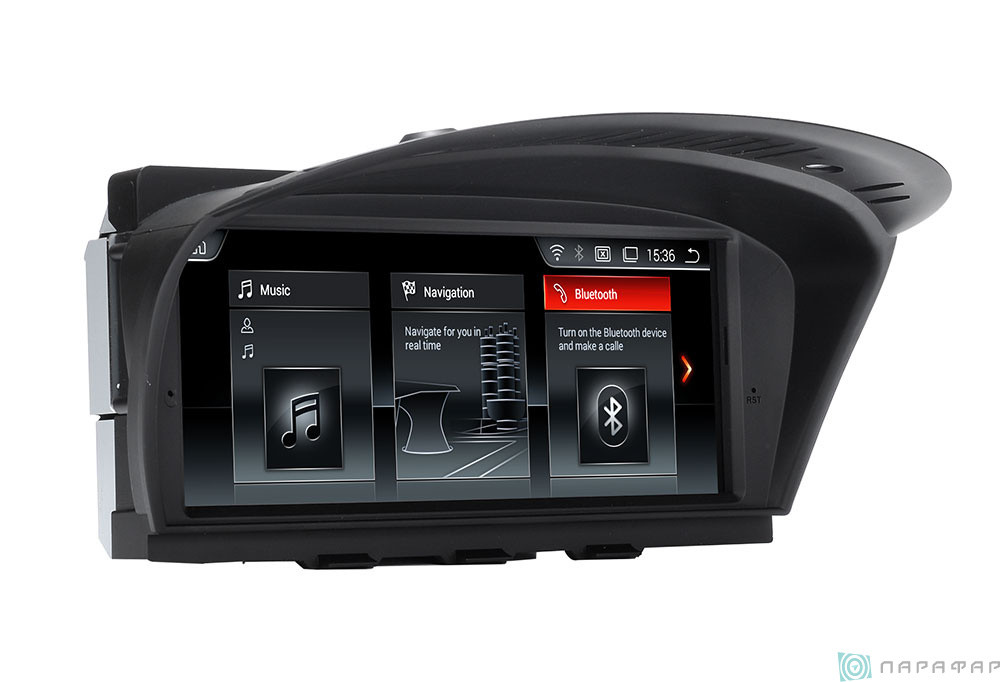ANDROID 8.1.0  BMW 5 series, E60, 2003-2009г. HD ЭКРАН 1024-600 ПРОЦЕССОР 8 ЯДЕР (OCTA CORE)
