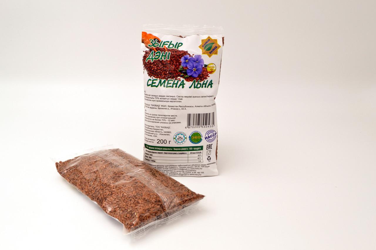 Семена льна КазБад 200 гр.