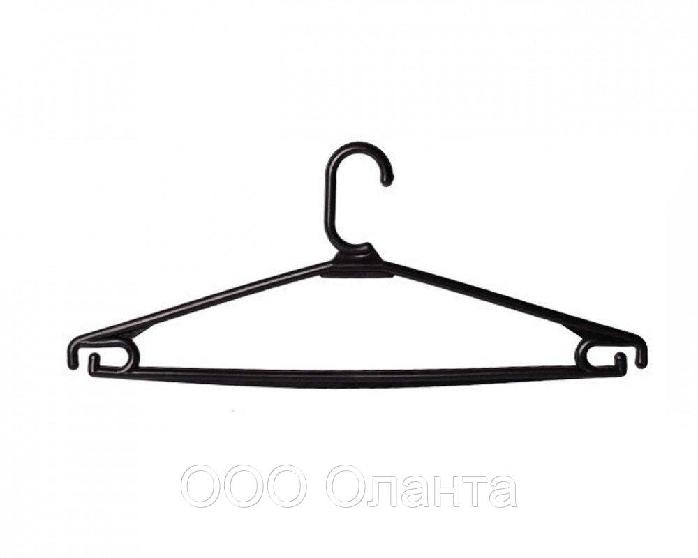 Вешалка пластиковая для трикотажа и легкой одежды (L=400 мм) арт.ВБ-3