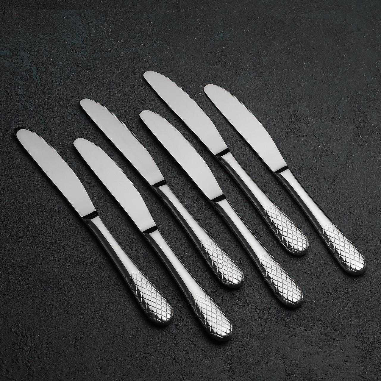 Набор ножей 22 см Wilmax из 6 шт. от Юлии Высоцкой