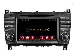 ANDROID 8.1.0 Mercedes W203 2004-2005 г.Gelandewagen 2007-2011 100 HD ЭКРАН 1024-600 ПРОЦЕССОР 4 ЯДРА (QUAD