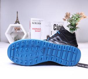 Зимние кроссовки Adidas ( 40-44)  Мех+Кожа, фото 2