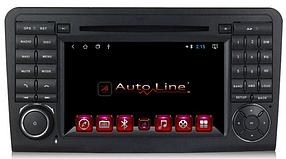 ANDROID 8.1.0 Mercedes Ml 164, Gl X164 2005-2012г. 100 HD ЭКРАН 1024-600 ПРОЦЕССОР 4 ЯДРА (QUAD CORE)