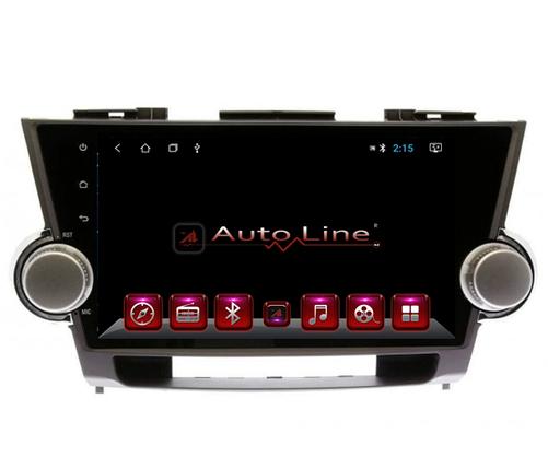 Магнитола для Toyota highlander, 2007-2013 г. ПРОЦЕССОР 4 ЯДРА (QUAD CORE), фото 2