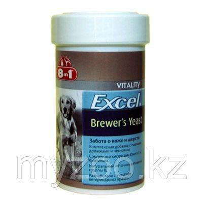 8в1 Excel BREWERS Yeast with Garlic, 8в1 Эксель пивные дрожжи, уп. 250табл.