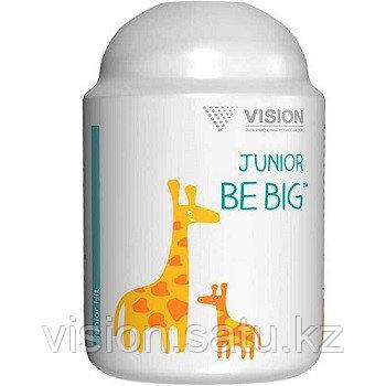 кальций для детей, юниор би биг, витамины визион