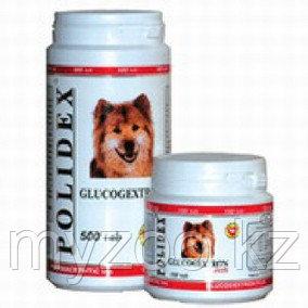 POLIDEX Glucogextron plus, 500 табл. |Полидекс, хондропротектор для собак и щенков|