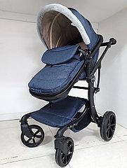 Утепленная коляска трансформер Aimelia. Амели. Отличный подарок!
