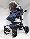 Утепленная коляска трансформер Aimelia. Амели. Отличный подарок!, фото 5