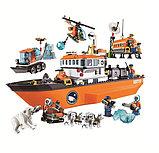 Конструктор лего Bela 10443 City Арктический ледокол аналог Lego 60062, фото 3