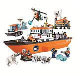 Конструктор лего Bela 10443 City Арктический ледокол аналог Lego 60062, фото 5