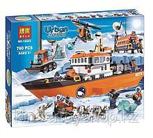 Конструктор лего Bela 10443 City Арктический ледокол аналог Lego 60062