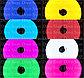 Флекс неон 12*6мм, 12V (для изготовления букв) Flex neon 12 вольт в цветной оболочке! Гибкий холодный неон 12в, фото 2