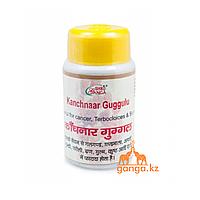 Канчнар Гуггул при заболеваниях Лимфатической системы (Kanchnaar Guggulu SHRI GANGA), 50гр.