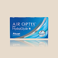 Alcon AIR OPTIX HYDRAGLYDE, 8.6, 3шт