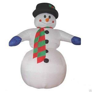 """Надувная фигура """"Снеговик"""" 5 метров"""
