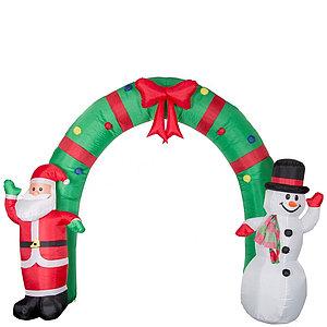 """Надувная фигура """"Новогодняя арка"""" 2,4 метра"""