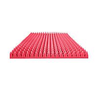 Акустический поролон Пирамида Красный