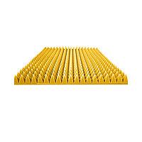 Акустический поролон Пирамида Желтый