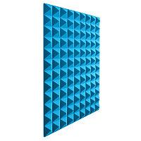 Акустический поролон Пирамида Голубой
