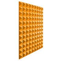 Акустический поролон Пирамида Оранжевый