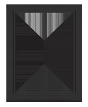 Глухие алюминиевые окна - фото 1