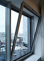 Поворотные и откидные алюминиевые окна