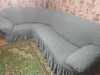 Жаккардовые чехлы на мягкую мебель.