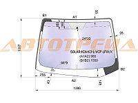 Стекло лобовое атермальное +дд в клей KIA CERATO 4/5D 12- (Solar-X защита от ультрафиолета)