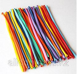 Воздушные шары разноцветные 100 штук