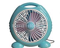 Настольный голубой мини вентилятор FC07-190 Fei Peng на ножках