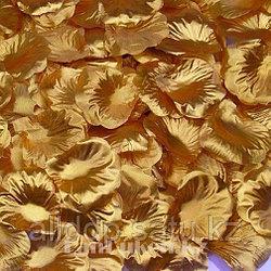 Лепестки роз Rose Petals, искусственные лепестки роз, желтые лепестки из шелка