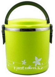 Ланч бокс 1,8 л (Аying combined lunch box) зеленый, ланч бокс для еды
