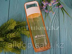 Бутылочка для воды ZANNUO 580 мл, емкость для воды желтая
