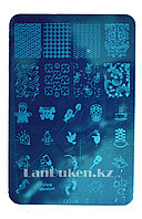 Диски для стемпинга ногтей QQ-05, пластины для дизайна ногтей