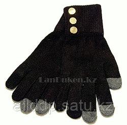 Сенсорные перчатки черные