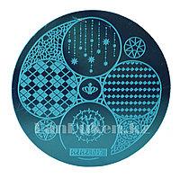 Стемпинг для ногтей, диски для ногтей 017