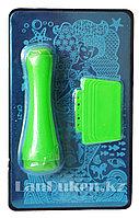Набор для стемпинга ногтей CF-21, пластины для дизайна ногтей, штамп двусторонний, скребок металлический