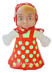 """Детский светодиодный ночник игрушка Сolorful LED lights """"Маша"""" (детский светильник красный)"""