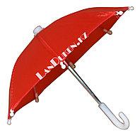 Зонтик для декора красный (для праздника)
