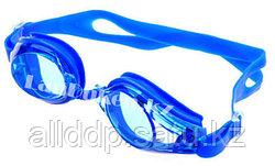 Очки для плавания с берушами (синие) в чехле