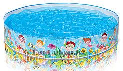 """Каркасный детский бассейн """"СНЭПБАССЕЙН"""" Intex (152* 25 см) 56451"""
