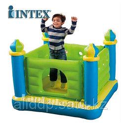 """Детский надувной игровой центр """"Замок"""" 132* 132* 107 см (манеж для ребенка)"""