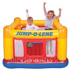 """Детский надувной игровой центр """"JUMP-O-LENE"""" 174* 174* 112 см (манеж для ребенка)"""