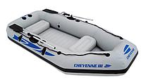 Надувная лодка 2-х местная JL 007111 N CHEYENNE III-200 (234* 120* 35 см)