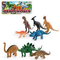 "Набор игрушек фигурок ДИНОЗАВРЫ ""Dino World""  (8 штук)"