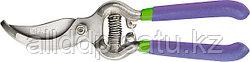 Секатор, 200 мм, пружина возвратная спирал. типа, легированная сталь, обрезинен. 60561 (002)